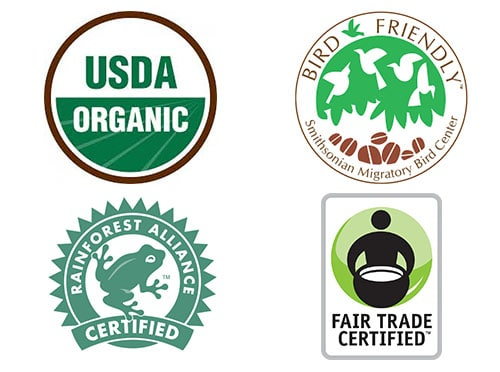 The Different types of Coffee Certifications