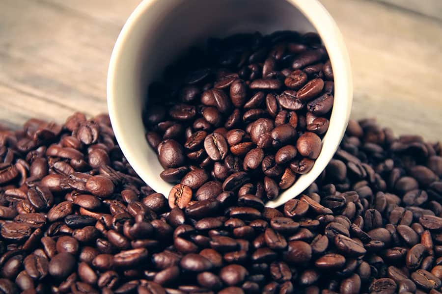 What is the best way to store coffee beans