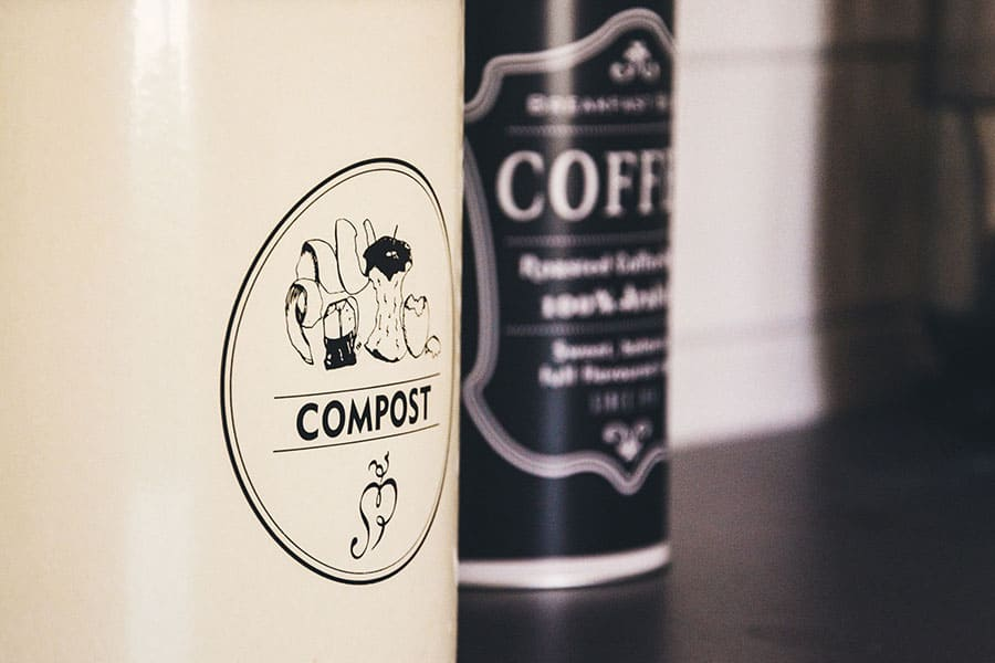Coffee Grounds and Compost