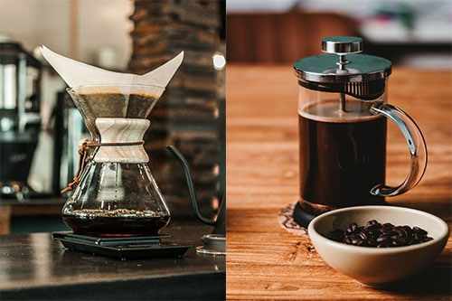 Comparing the French Press and Chemex