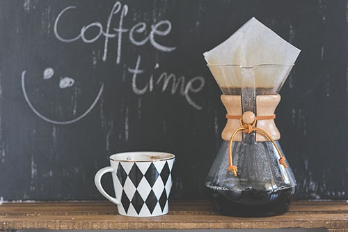 How to Make coffee with a Chemex