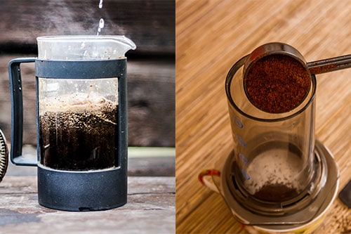 French Press Compared to Aero Press