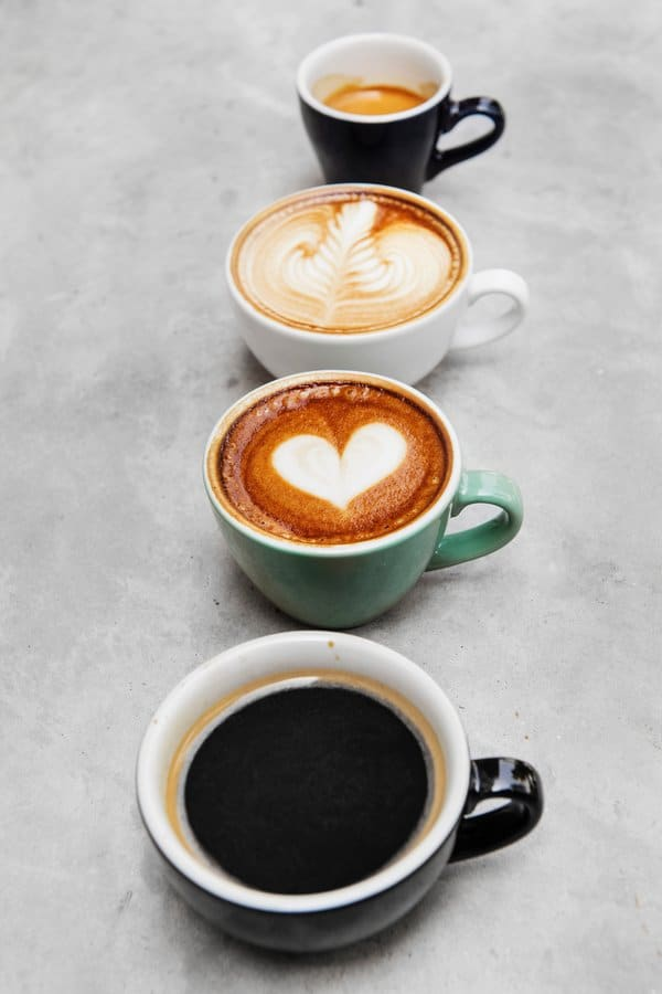 Drinks made with Espresso