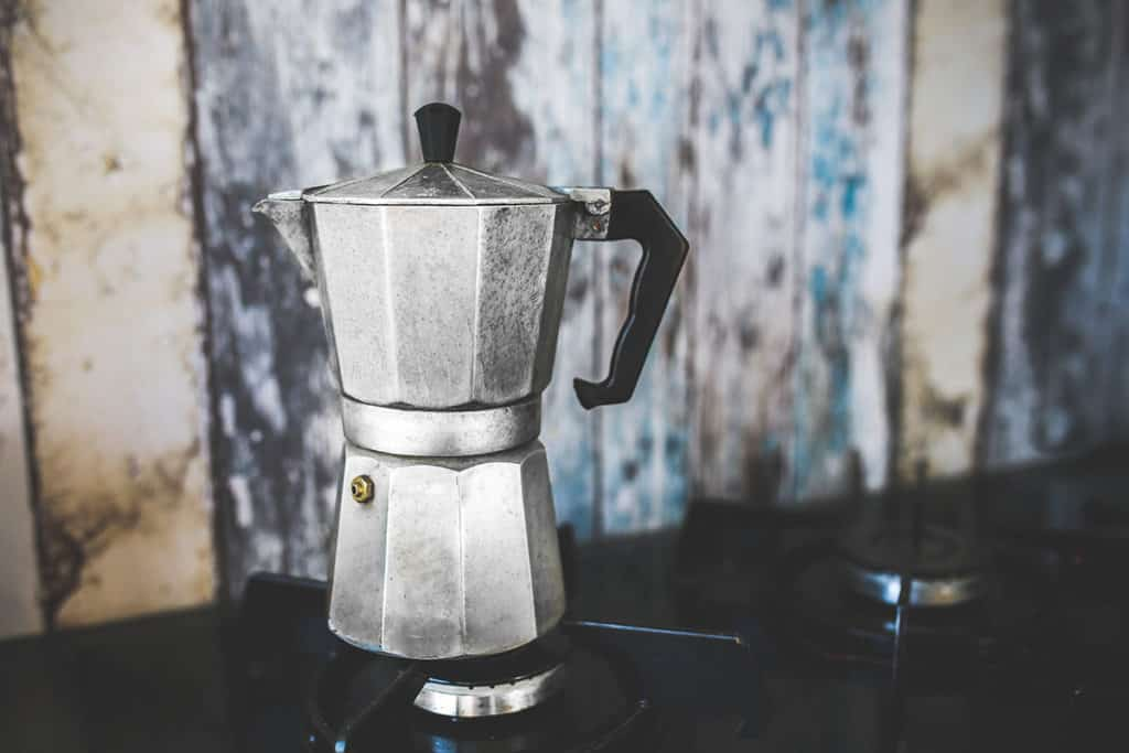 Moka pot for white coffee