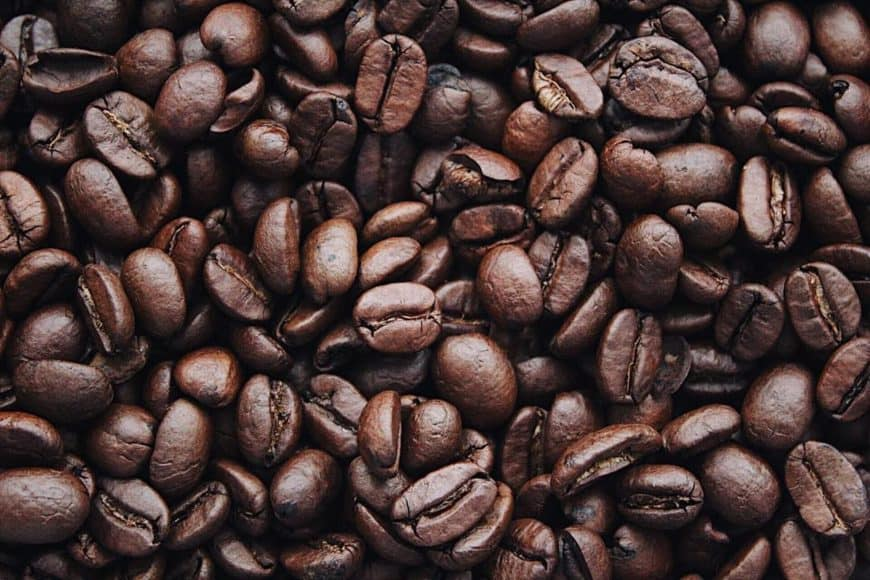 Eating Coffee Beans