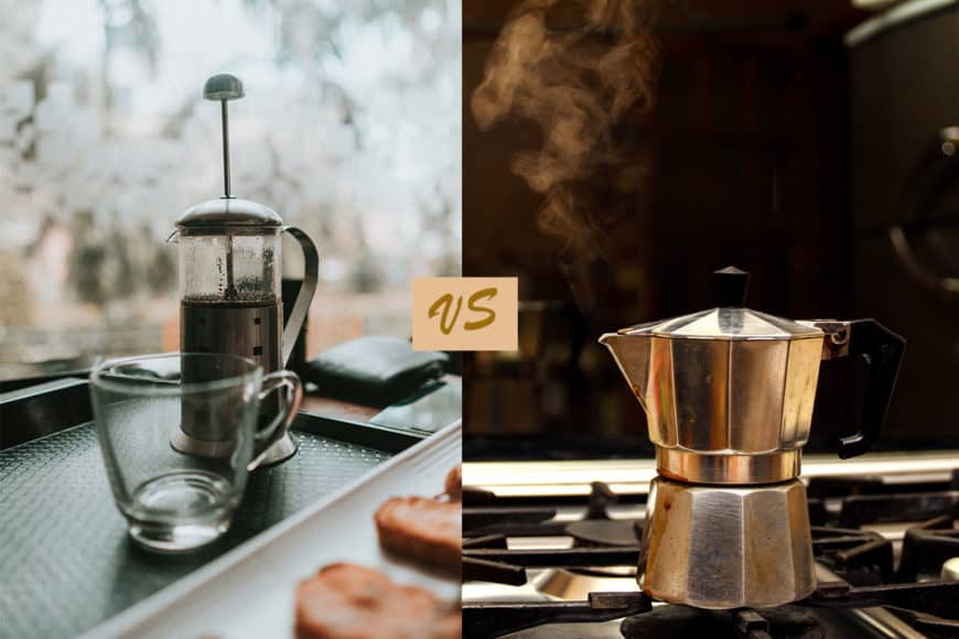French Press Vs Moka Pot