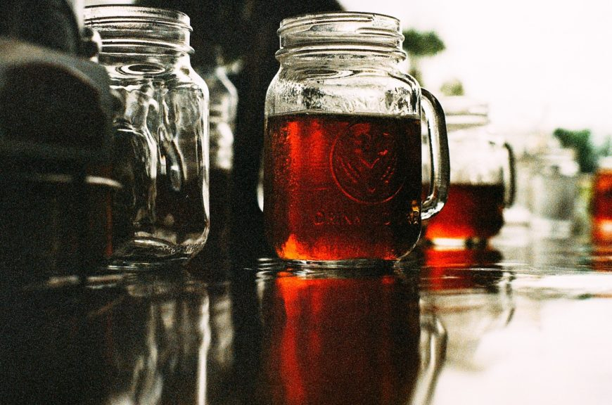 Making Cold Brew with a Mason Jar